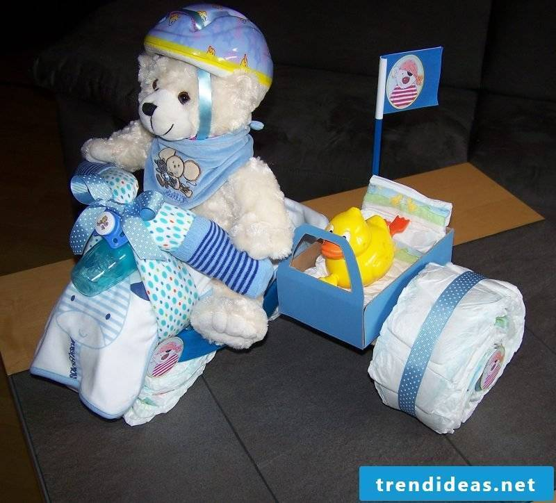 Diaper cake tinker interesting