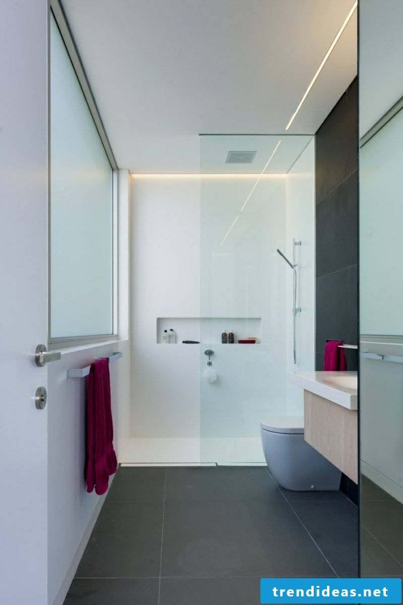 Bathroom indirect lighting