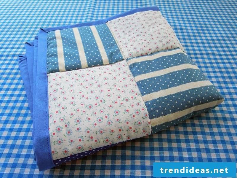 Patchwork quilt sew tutorial