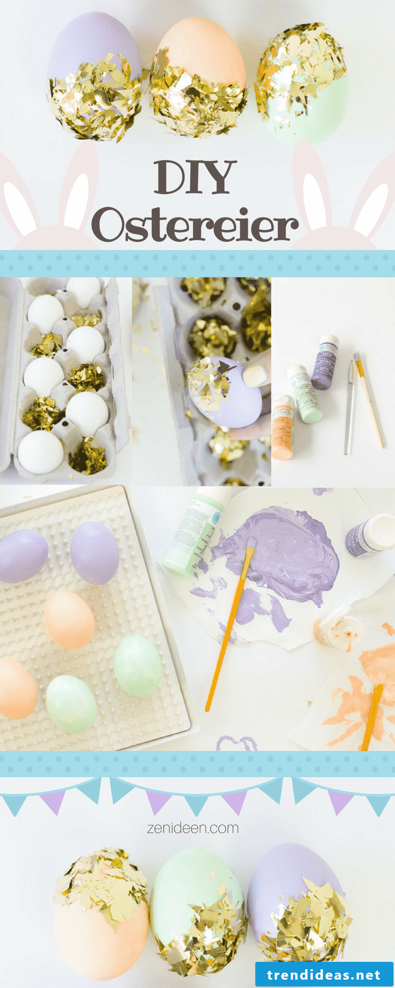 Still many creative ideas for Easter eggs without color dyeing can be found down there.  We wish you a lot of fun with crafts and Happy Easter!