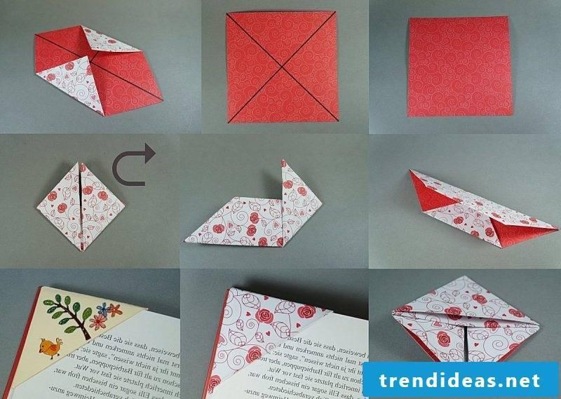 Bookmarks make wrinkle tips