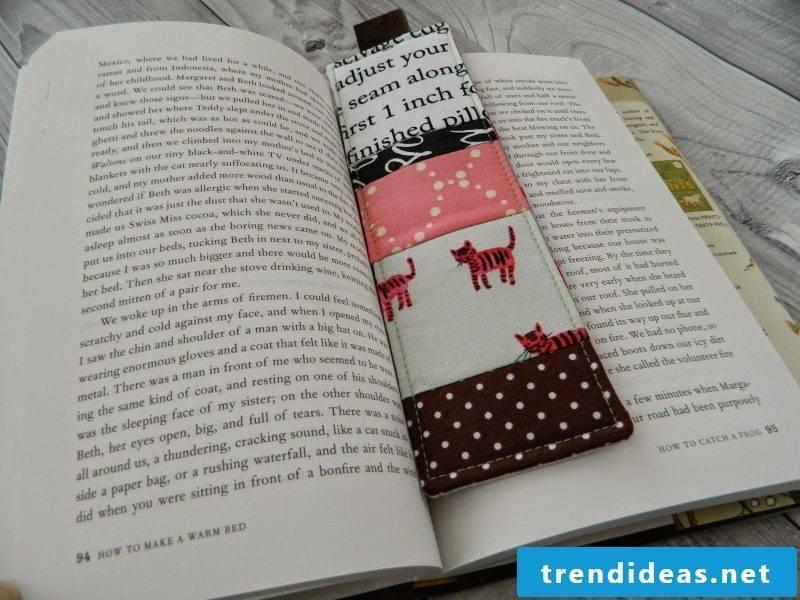 Bookmarks make ideas