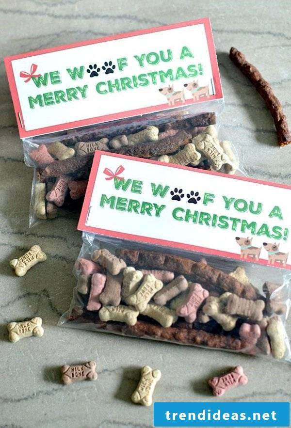 Christmas crafts - gift for the dog