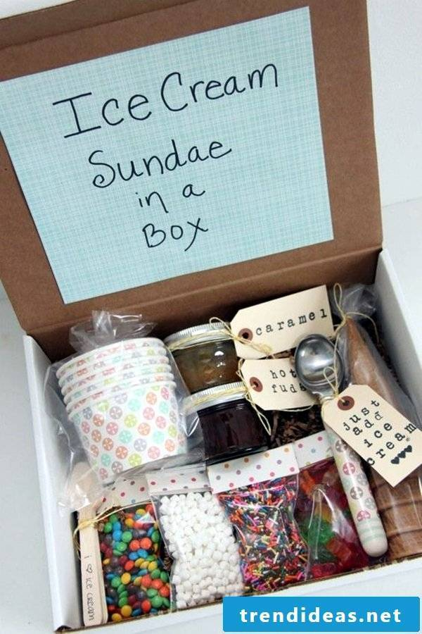 Gifts from the kitchen to make yourself