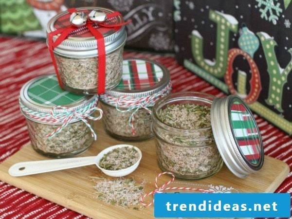 Christmas gifts homemade - gifts from the kitchen
