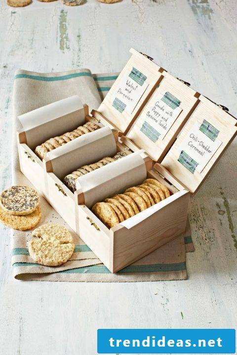 Cookies in a Sumptuous Box - One of the 101+ Ideas for Christmas Gifts for Parents