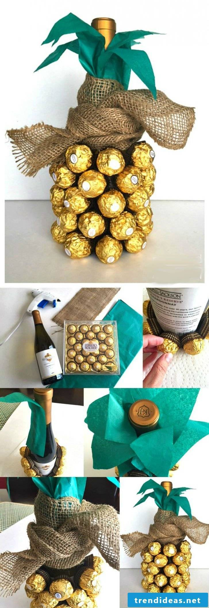 DIY instructions for homemade gifts for parents