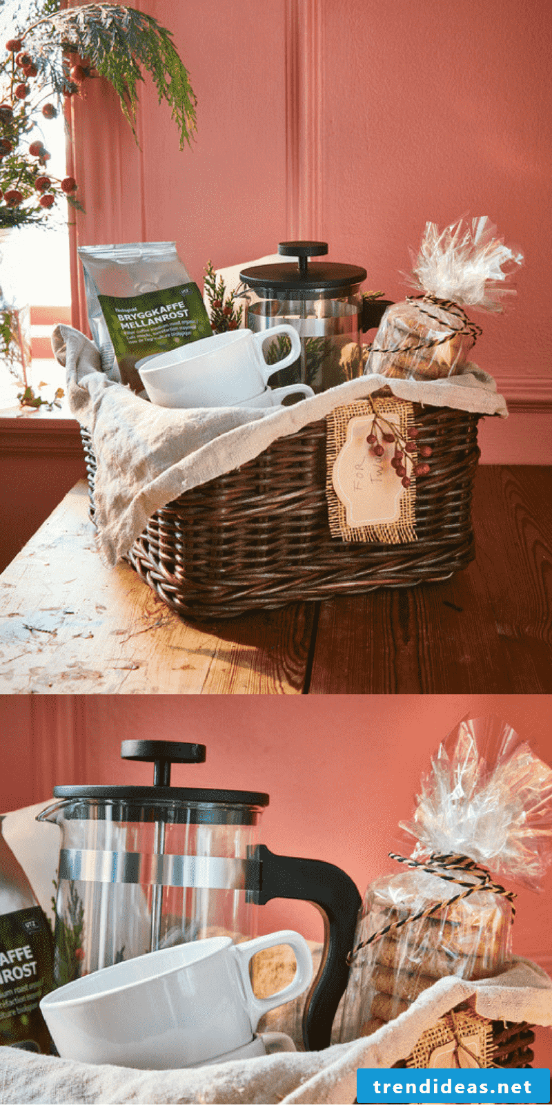 For the best coffee enjoyment to give your parents, you will find gift ideas for Christmas