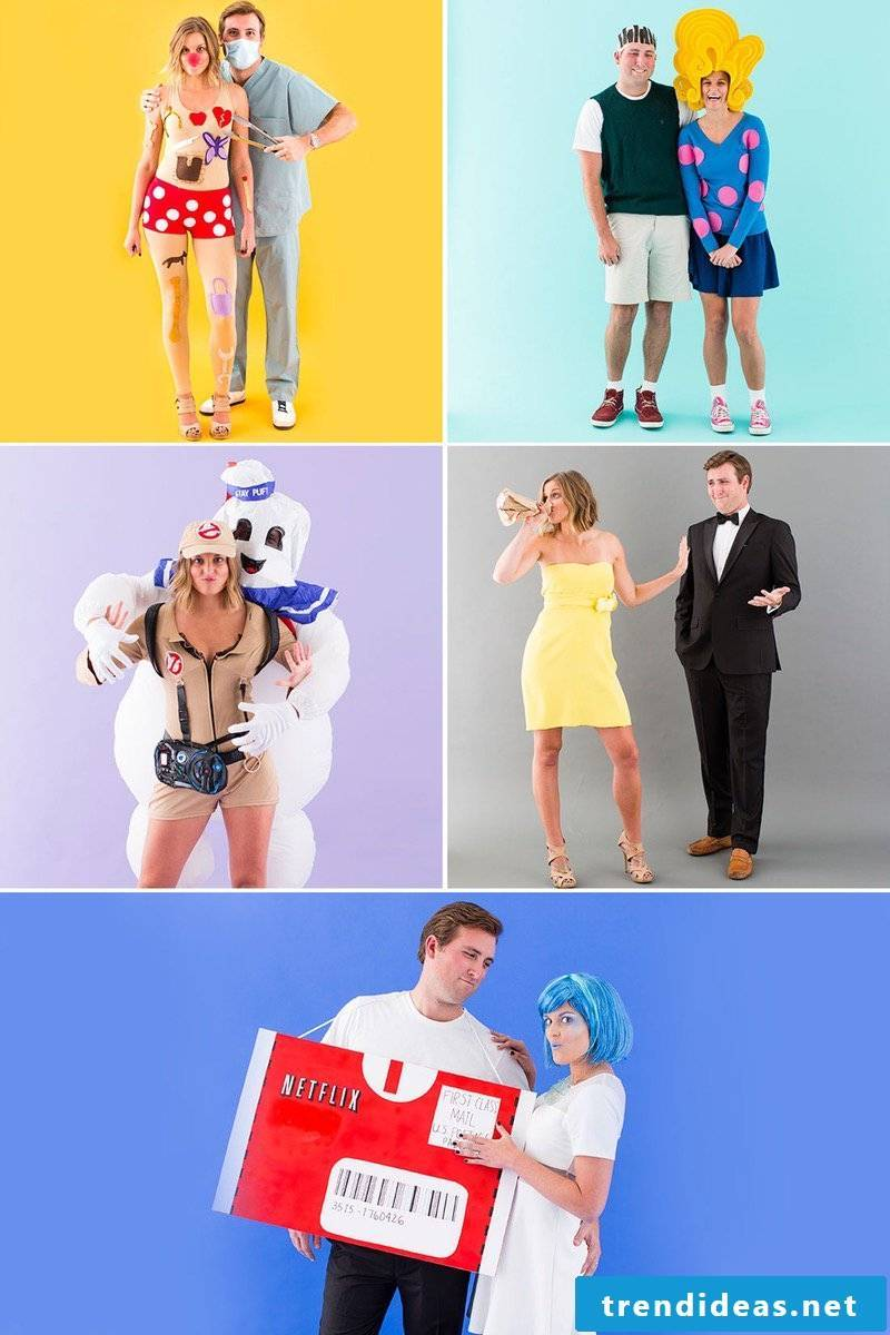 Make a costume for carnival itself - DIY instructions
