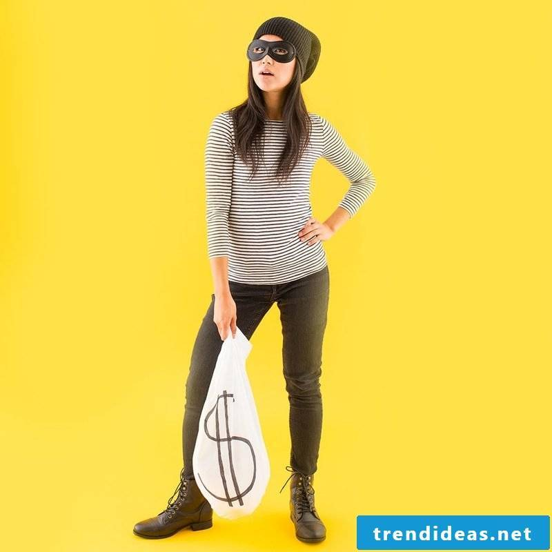 Fancy robbers?  A criminal costume will make you very easy