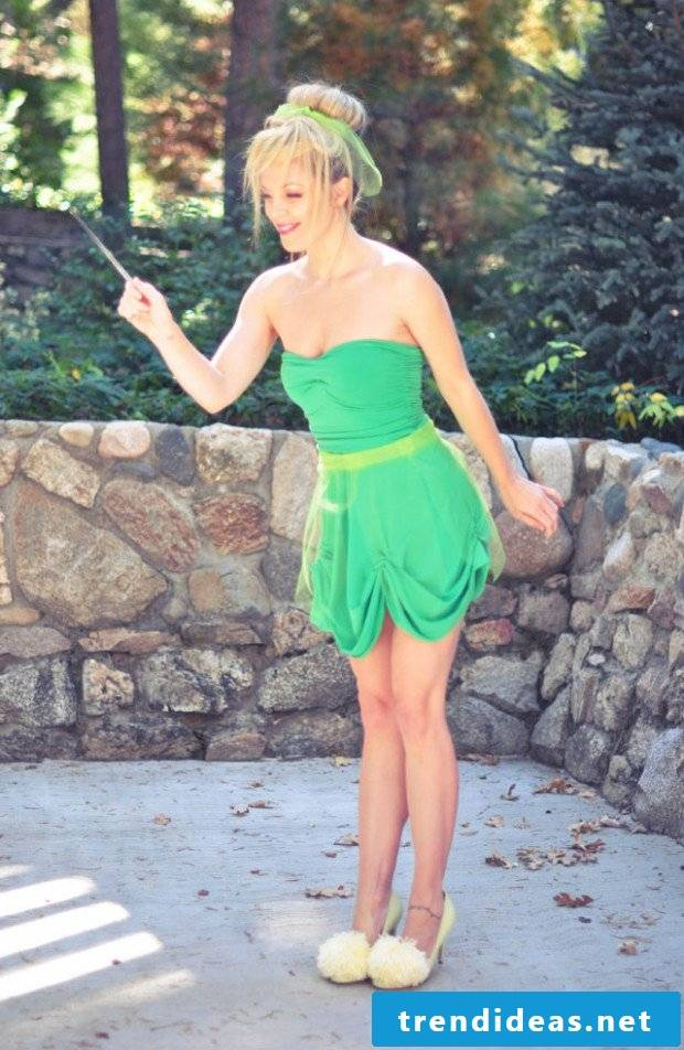 Tinkerbell costume make yourself