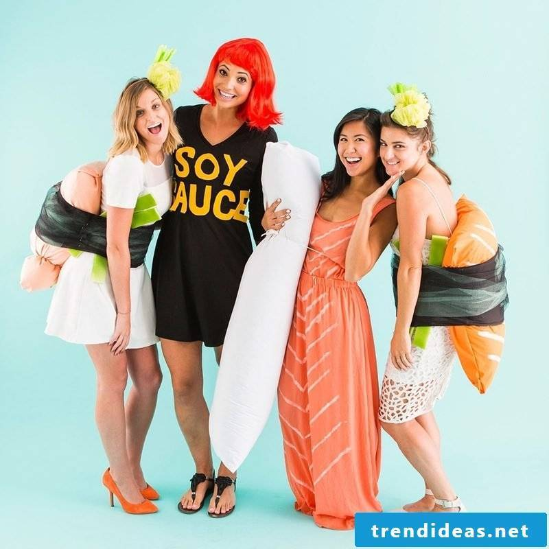 Group costumes for carnival