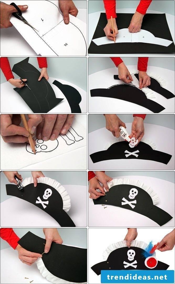 Make pirate bride costume yourself