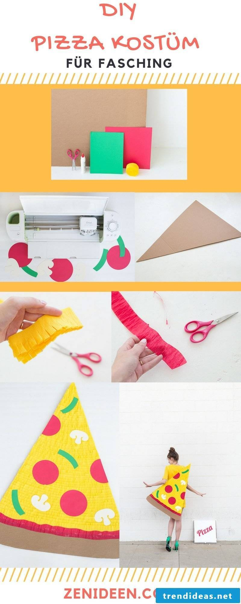 Make a delicious costume for carnival itself