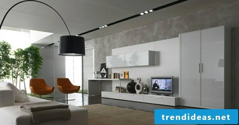Living room design original lamp