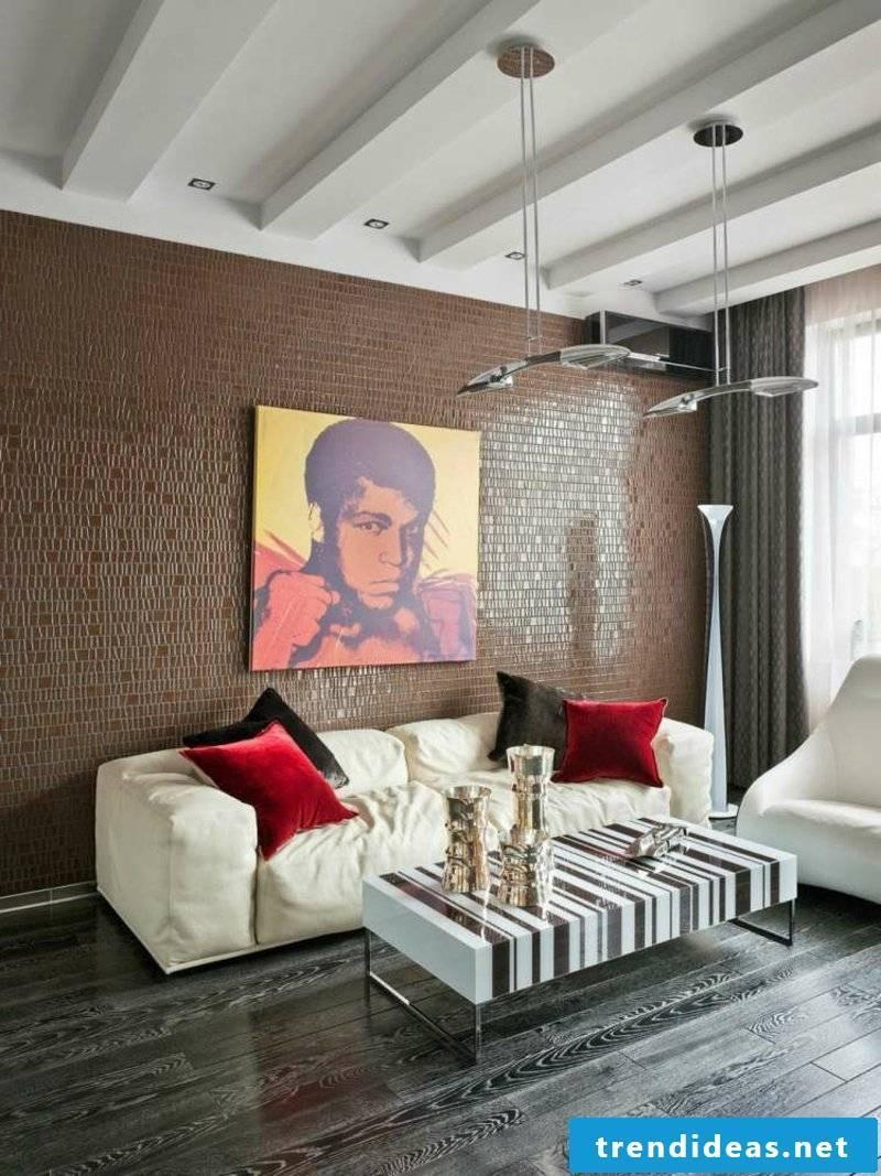 original painting living room
