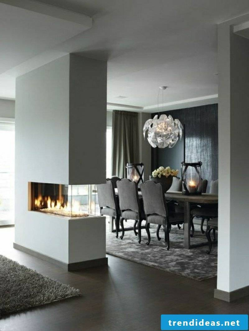 decorative fireplace living room