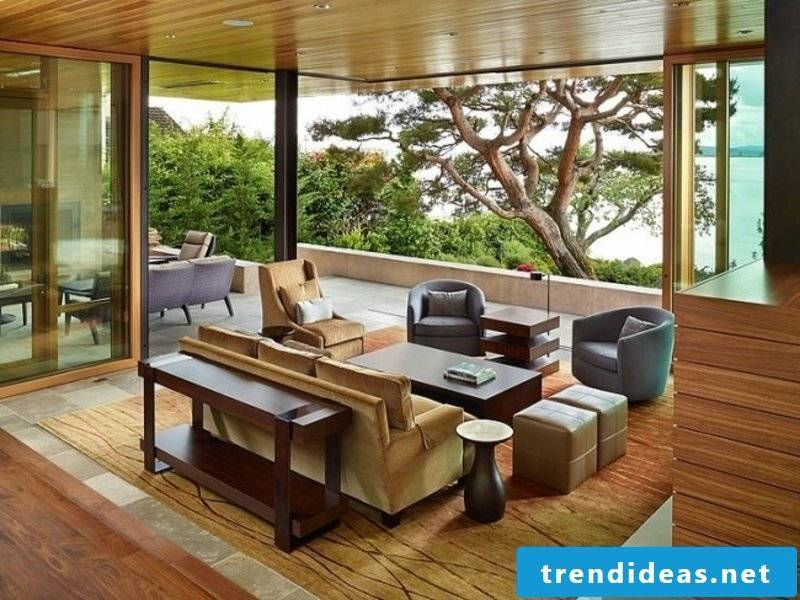 natural colors living room design