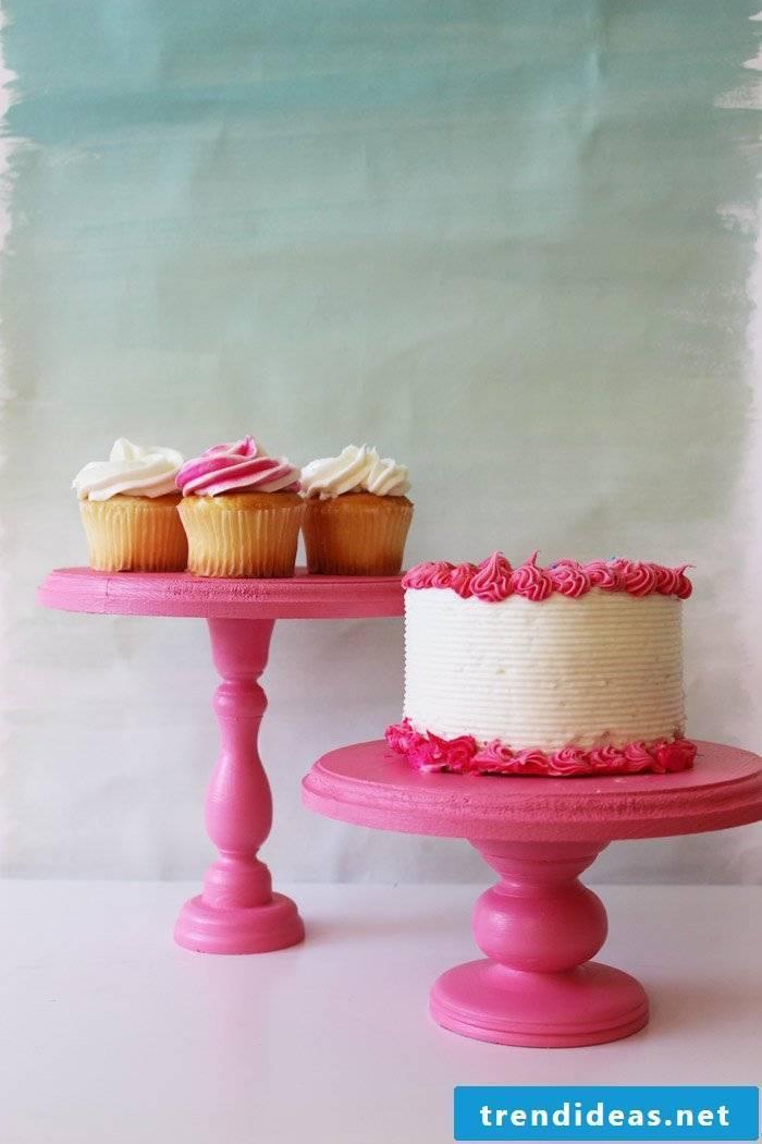 Cake rack pink