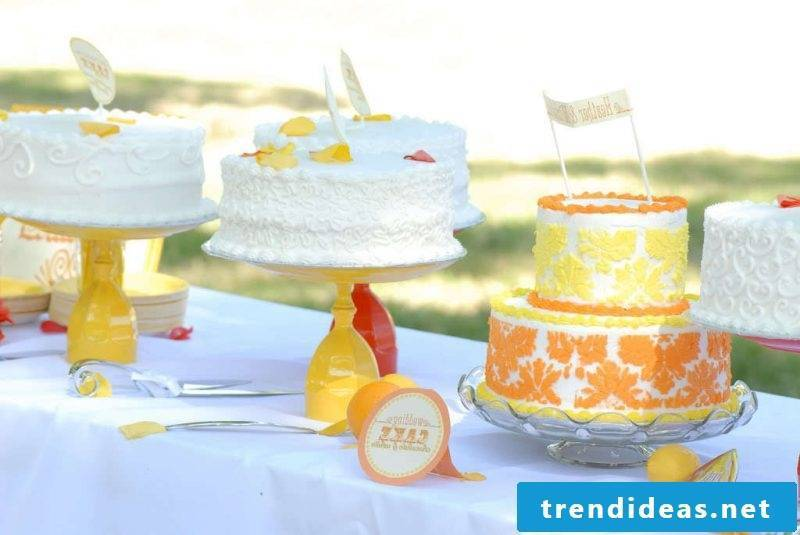 Cake rack yellow