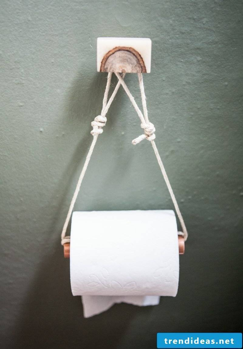 bathroom accessories toilet paper holder made of wood