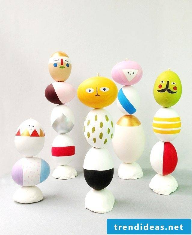 Many inspirations for Easter crafts can be collected here