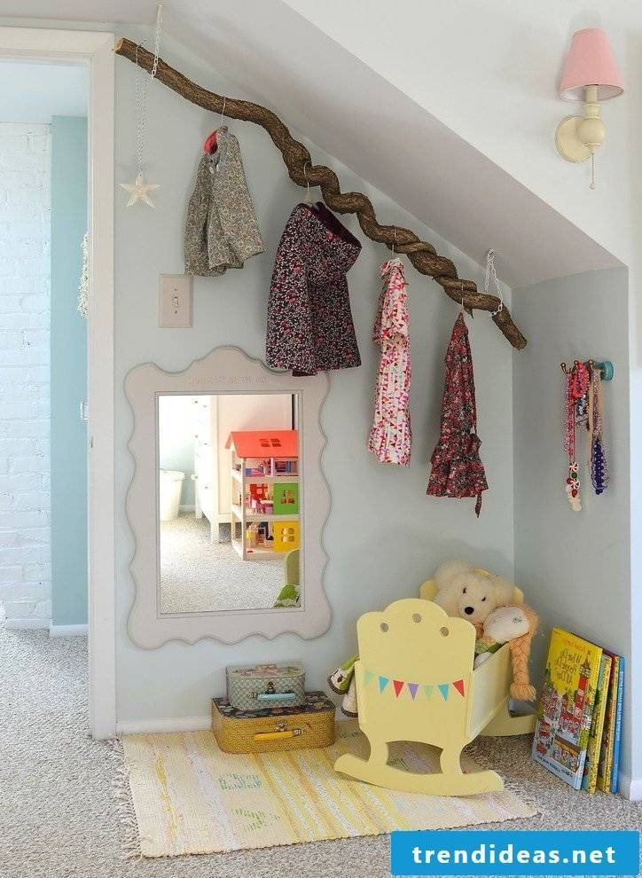Many wardrobe ideas for a nursery