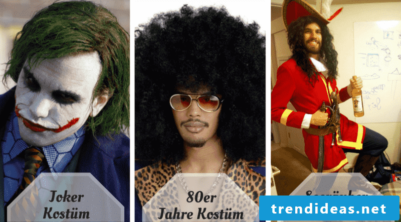 Men hairstyles long for Halloween
