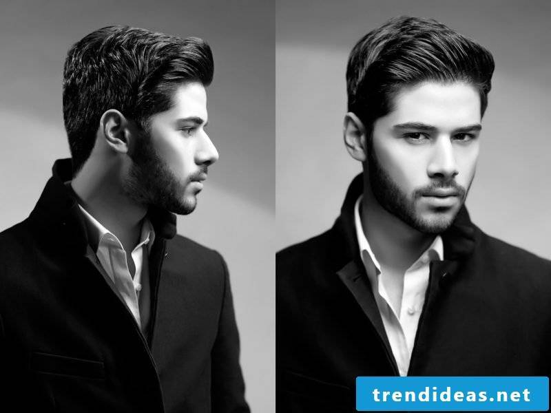 Men's short hairstyles design idea