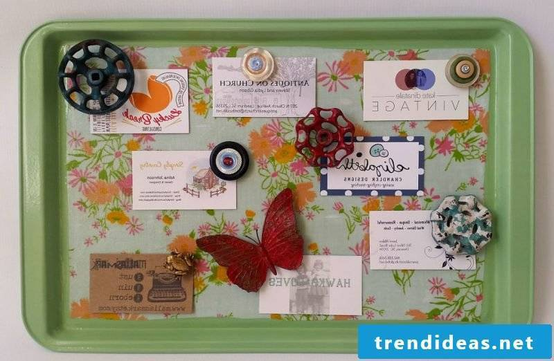 Memoboard itself make for the kitchen