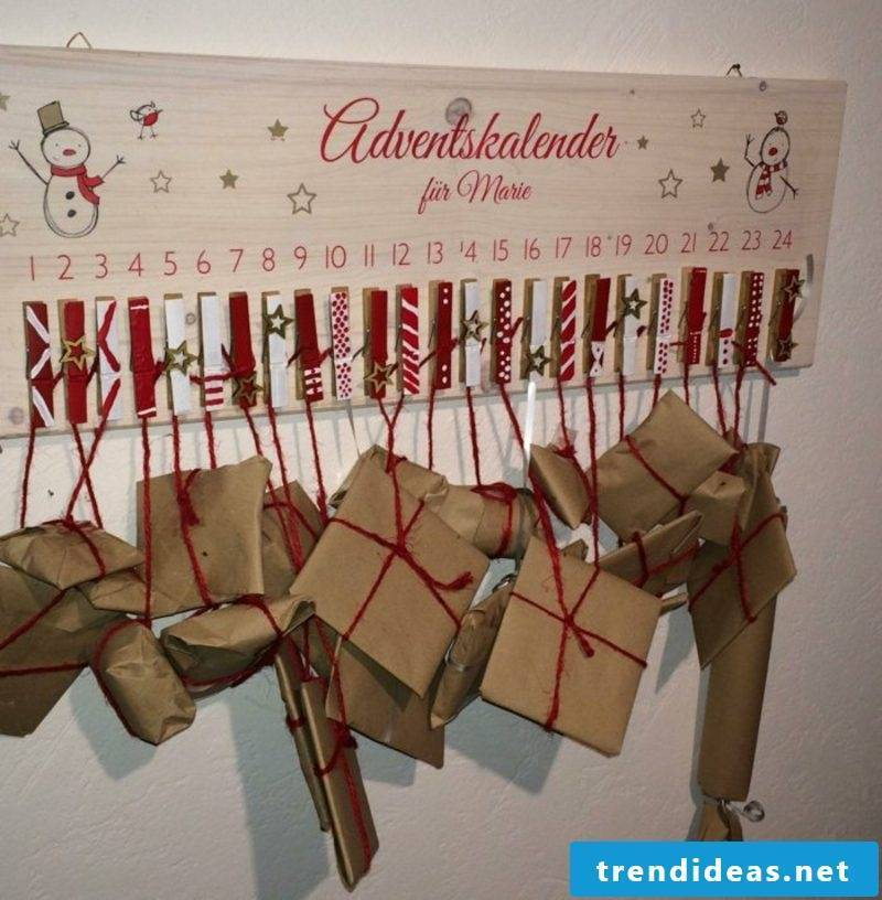 Advent calendars themselves make little presents