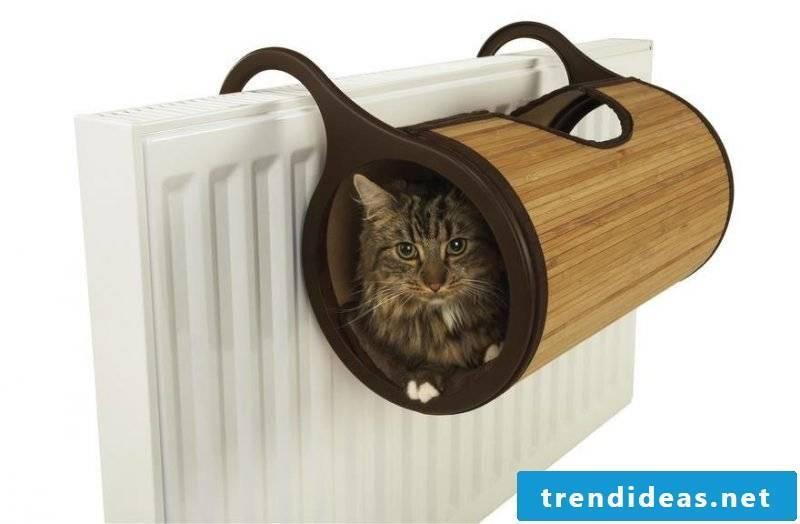 Cat furniture radiator bed