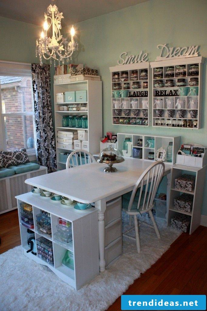 Craft room ideas make workbench yourself