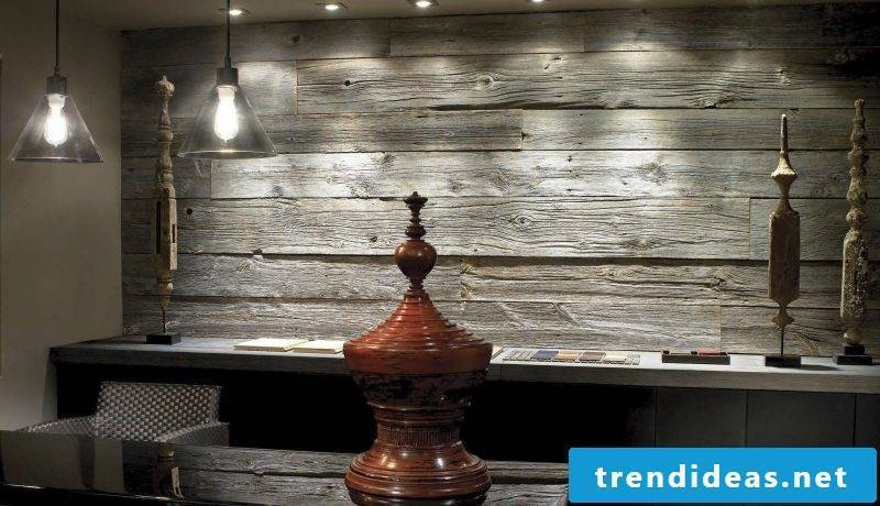 wood wall covering dark