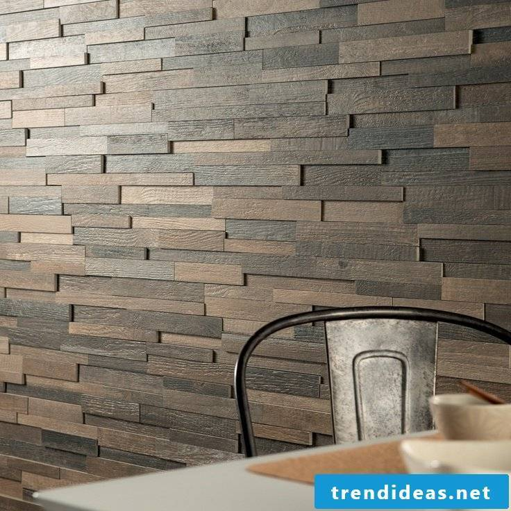 wood wallcovering easy-care
