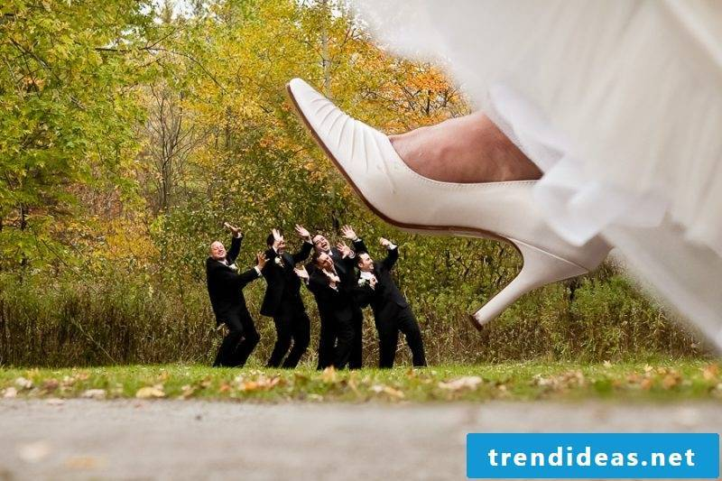 Wedding pictures shoes
