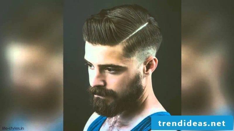 modern barber beard