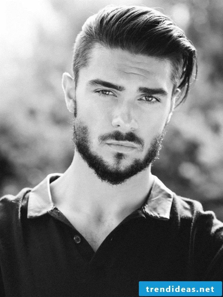 modern men's hairstyles shine