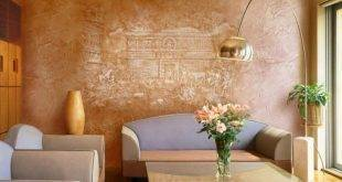 20 wonderful ideas for modern wall design with decorative plaster
