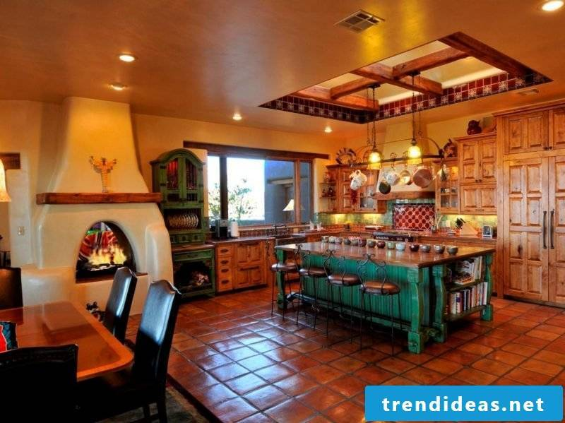 Mexican furniture kitchen dining room