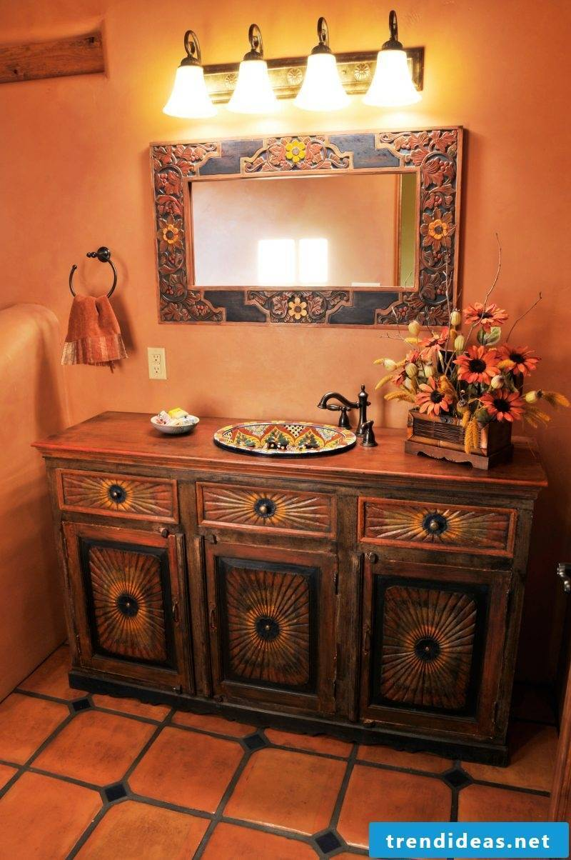 Mexican furniture toilet