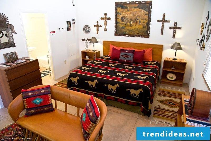 Mexican furniture room