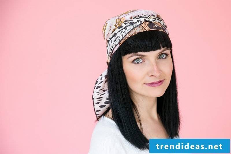 Headscarf tie boho style pirate headscarf
