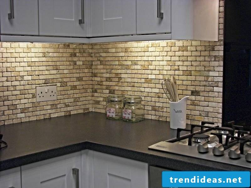Kitchen wall design effective