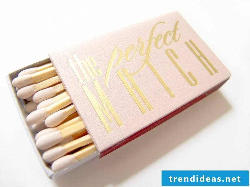 wedding favors wooden sticks