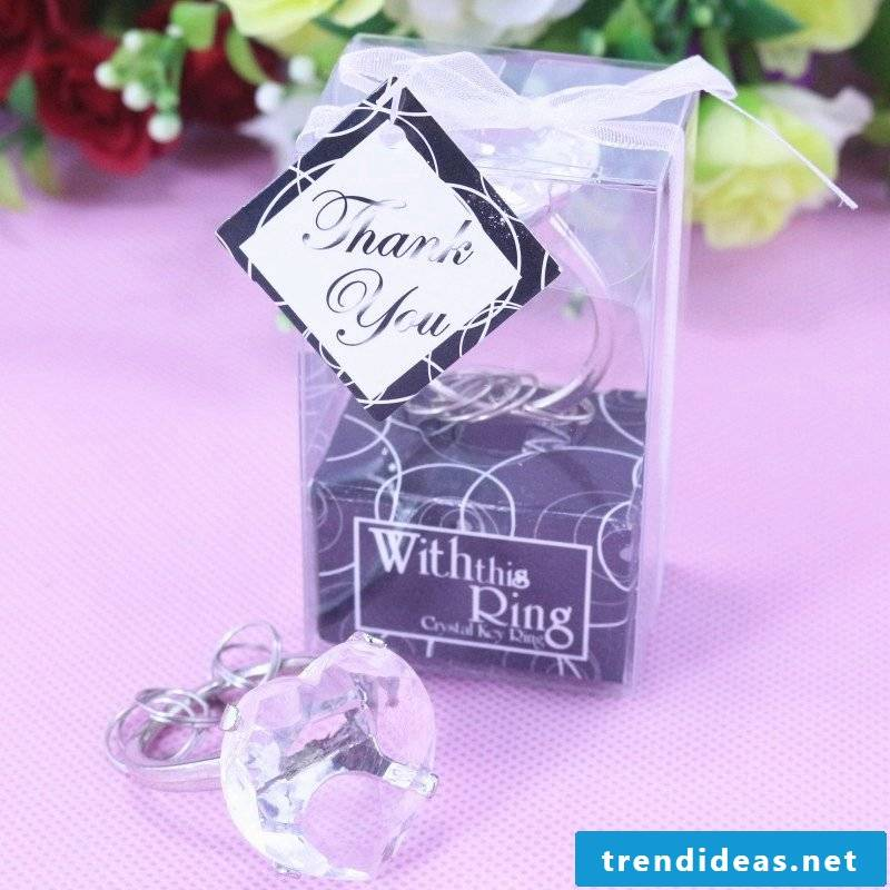wedding guests keychains