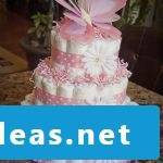 Instructions diaper cake Rosa
