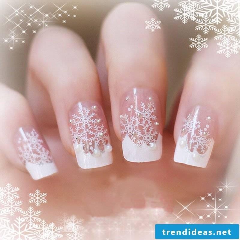 Christmas Nails Gel.24 Gel Nails Sample Christmas On The Nails
