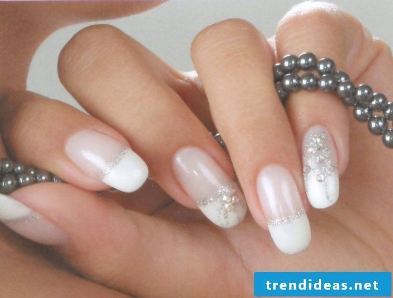 wedding nails sweet