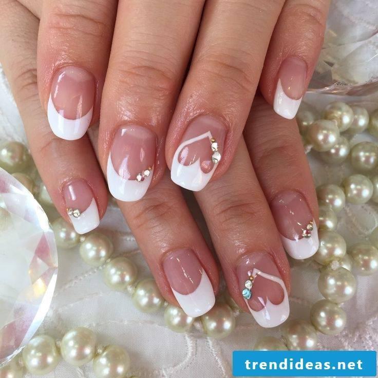 wedding nails gorgeous